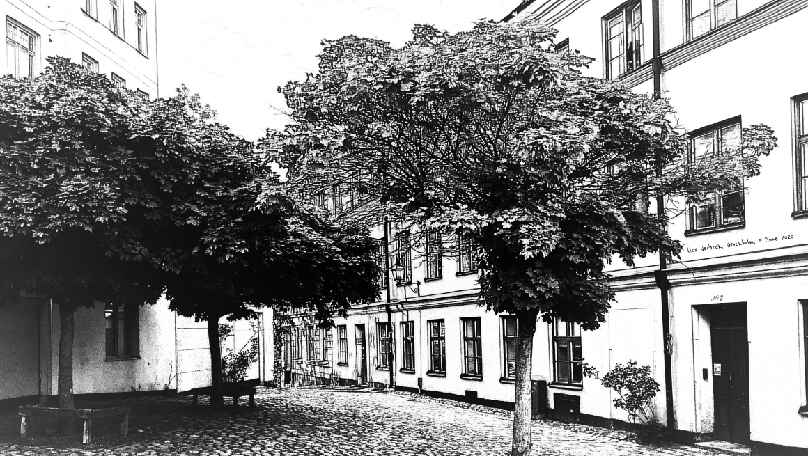A square at Södermalm