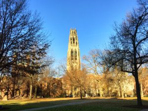 Yale World Fellows, Harkness Tower