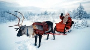 image of Santa and climate change